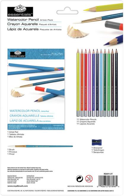essentials(TM) Artist Pack-Watercolor Pencil -RD811