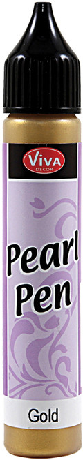 Viva Decor Pearl Pen 25ml-Gold -VD1162-90101 - 9999913007594042972162160