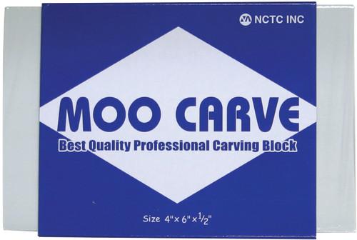 "Moo Carving Block-4""X6""X.5"" -MOO-4605 - 882233200002"