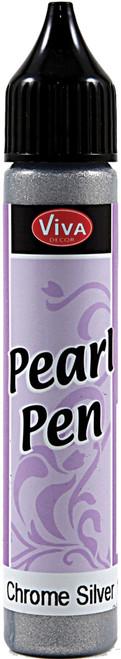 Viva Decor Pearl Pen 25ml-Silver Chrome -VD1162-90501 - 9999913007974042972162313