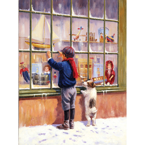 """Junior Small Paint By Number Kit 8.75""""X11.75""""-Christmas Wish -PJS-73 - 090672077202"""
