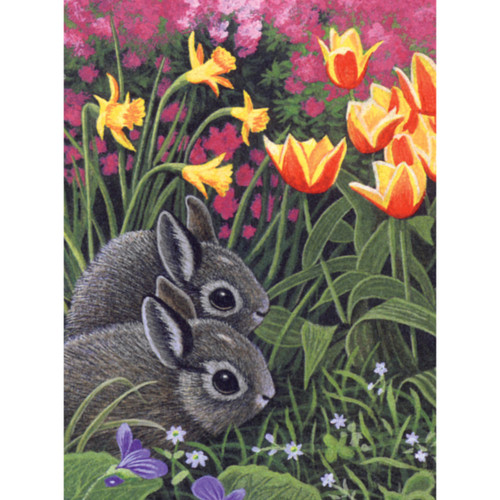 """Junior Small Paint By Number Kit 8.75""""X11.75""""-Spring Bunnies -PJS-78"""