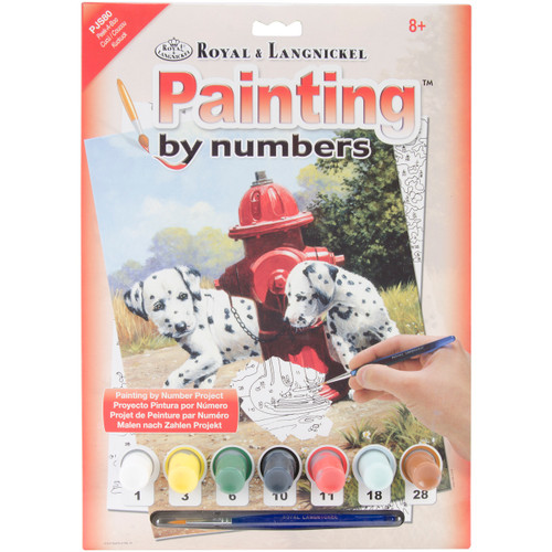 """Junior Small Paint By Number Kit 8.75""""X11.75""""-Peek-A-Boo -PJS-80 - 090672077271"""