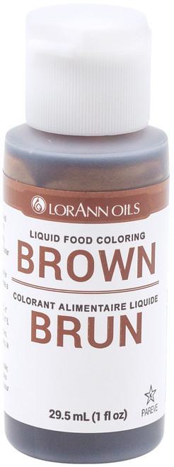 Liquid Food Color 1oz-Brown -LFC-1030