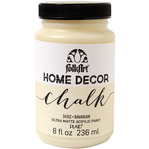 FolkArt Home Decor Chalk Paint 8oz-Bavarian -HDCHALK-34152 - 028995341526