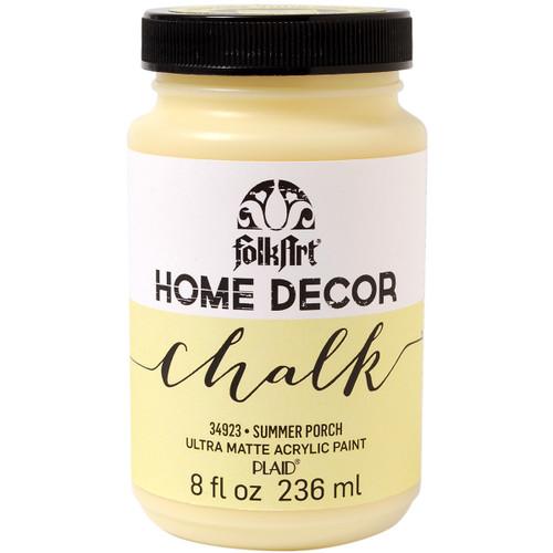 FolkArt Home Decor Chalk Paint 8oz-Summer Porch -HDCHALK-34923 - 028995349232
