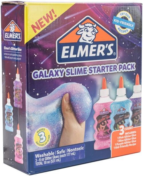 Elmer's Galaxy Glitter Glue 3/Pkg-E2022923