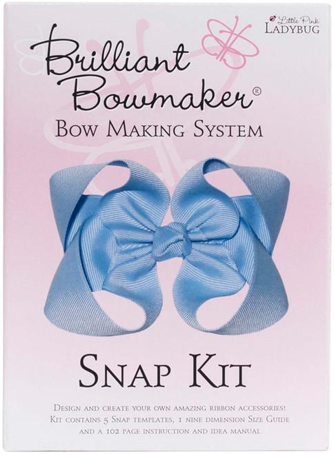 Little Pink Ladybug Brilliant Bowmaker Snap Kit-LPL0103 - 856871003028