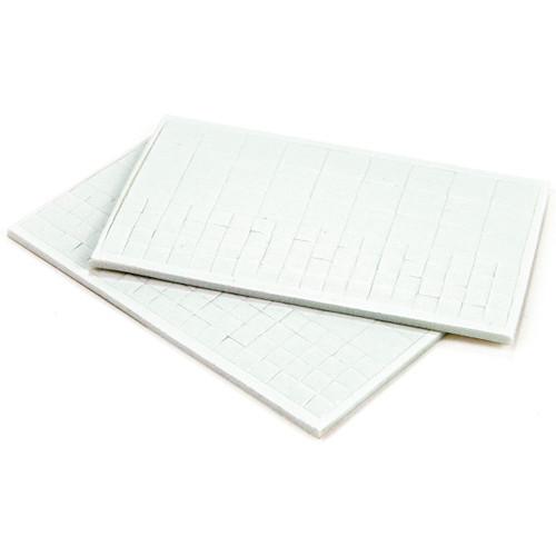 """3D Dots Foam Dot Adhesive -White Squares .125"""" Thick 198/Pkg -E5501042"""