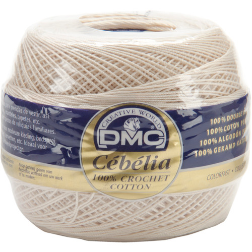 DMC/Cebelia Crochet Cotton Size 20-Ecru -167G 20-ECRU - 077540124268