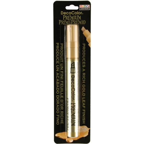 DecoColor Premium Chisel Paint Marker-Gold -350-C-GLD - 028617350790