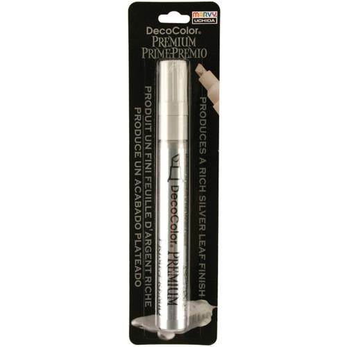 DecoColor Premium Chisel Paint Marker-Silver -350-C-SLV - 028617350691