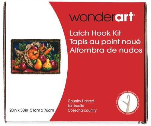 "Wonderart Classic Latch Hook Kit 20""X30""-Country Harvest -426405 - 057355369306"