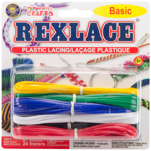 Rexlace Plastic Lacing 27yd-Basic -RX6-2 - 725879400156