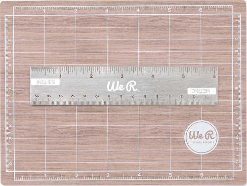 Mini Magnetic Cutting Mat & Ruler Set-71092