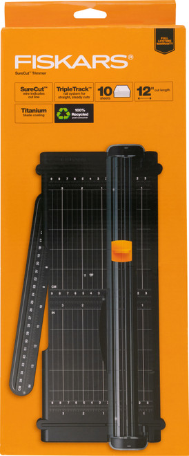 "Fiskars SureCut Paper Trimmer 12""-5454 - 020335035676"