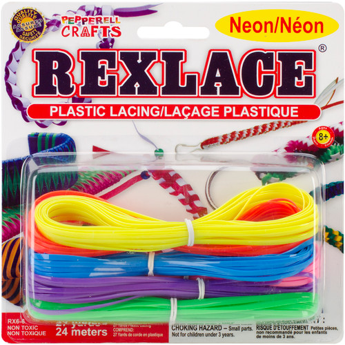Rexlace Plastic Lacing 27yd-Neon -RX6-6 - 725879400194