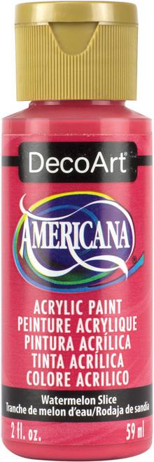 Americana Acrylic Paint 2oz-Watermelon Slice -DA-324 - 766218083739