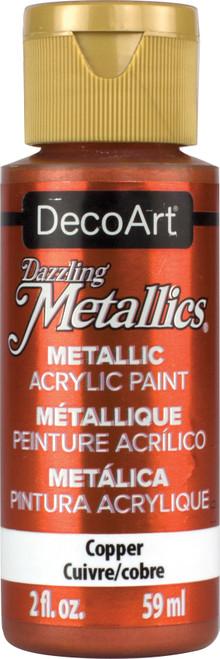 DecoArt Dazzling Metallics Acrylic Paint 2oz-Copper -DM-DA205 - 766218000231