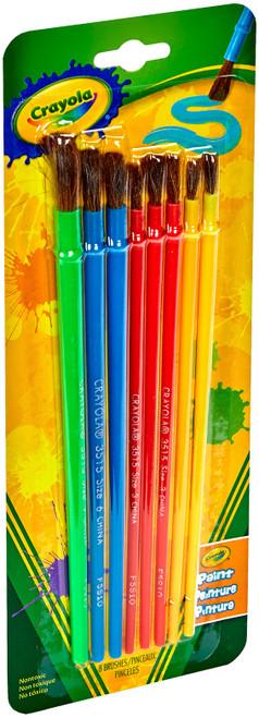 Crayola Paintbrushes-8/Pkg -05-3516