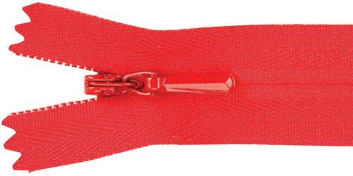 """YKK Unique Invisible Zipper 22""""-Red -322-519 - 662330522524"""