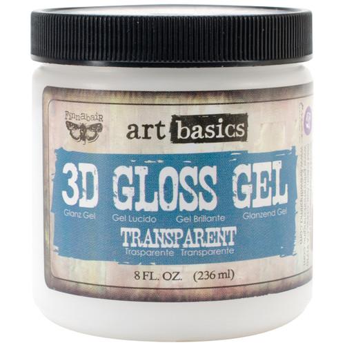 Finnabair Art Basics 3D Gloss Gel 8oz-Transparent -961381 - 655350961381