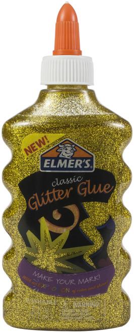 Elmer's Glitter Glue 6oz-Gold -ELMGG-E912 - 026000181921