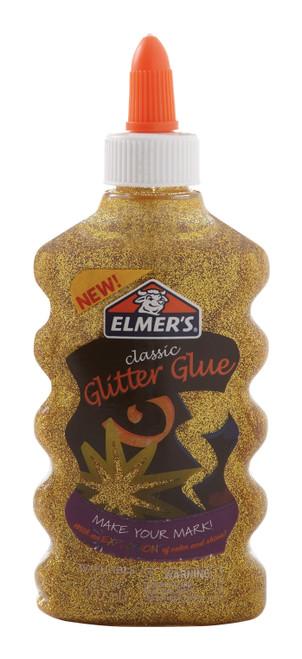 Elmer's Glitter Glue 6oz-Gold -ELMGG-E912