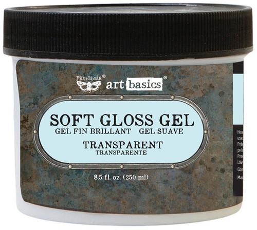Finnabair Art Basics Soft Gloss Gel 8.5oz-Transparent -961435 - 655350961435