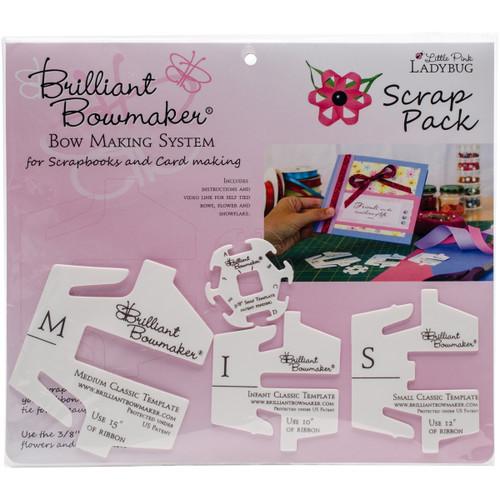 Little Pink Ladybug Brilliant Bowmaker Scrap Pack -LPL0106 - 856871003059