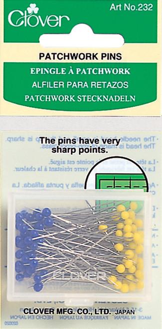Clover Patchwork Pins-100/Pkg -232 - 051221403040