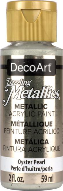 DecoArt Dazzling Metallics Acrylic Paint 2oz-Oyster Pearl -DM-DA203 - 766218000217