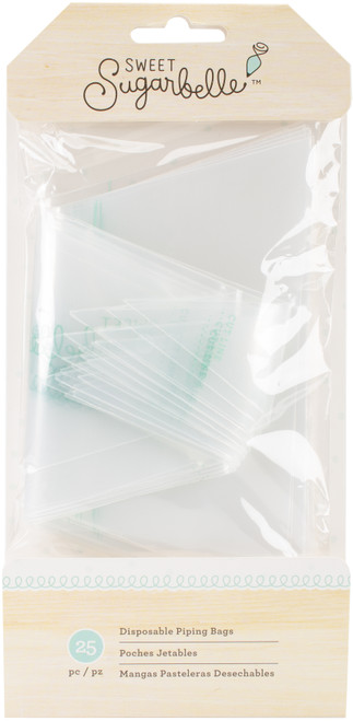 Sweet Sugarbelle Disposable Piping Bags 25/Pkg-SB378976 - 718813789769