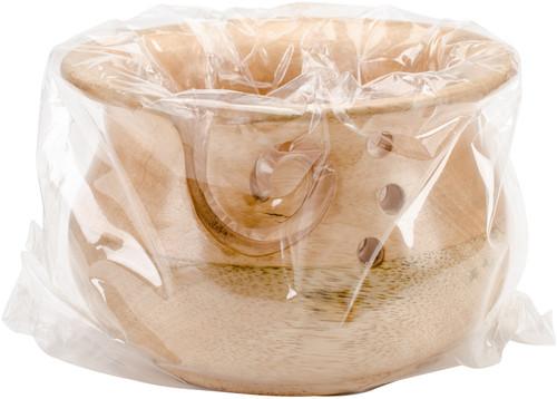 Susan Bates Wood Yarn Bowl-Wood Yarn Bowl -14500 - 077216000193