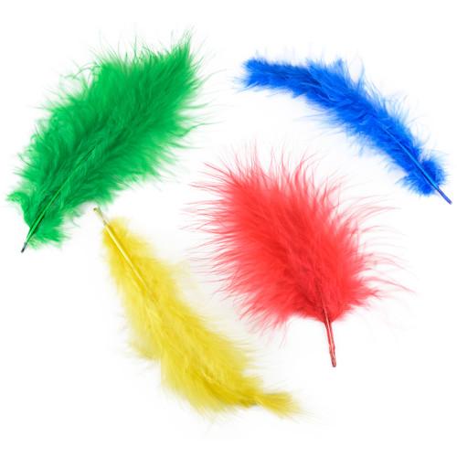 Marabou Feathers .25oz-Vibrant -B704-AV - 096709040287