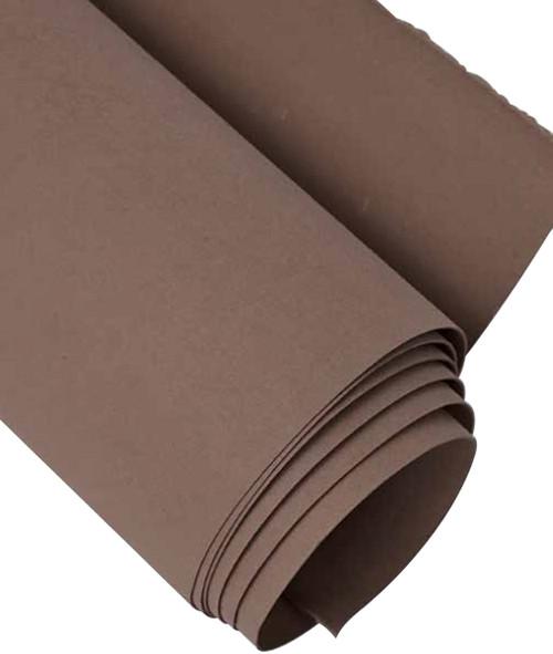 "kraft-tex Kraft Paper Fabric 19""X1.5yd-Chocolate -20289"