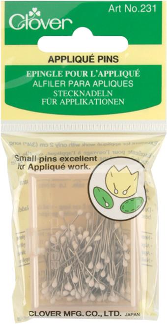 Clover Applique Pins-Size 12 150/Pkg -231 - 051221403057