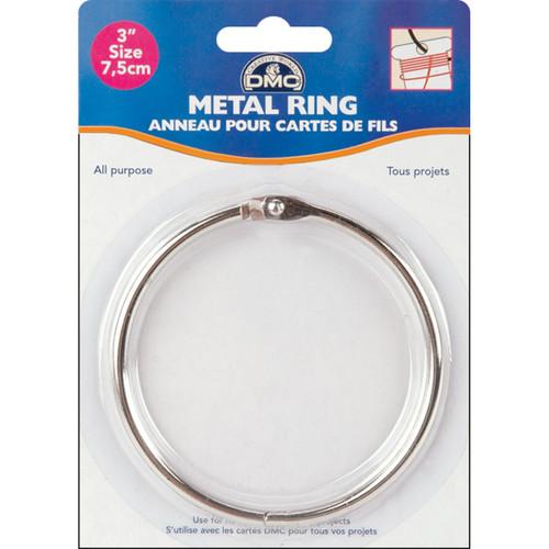 "DMC Metal Ring 3""-1/Pkg -6111D - 077540387786"