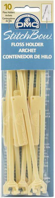 DMC StitchBow Floss Holders-10 Pieces -GC001 - 077540817221