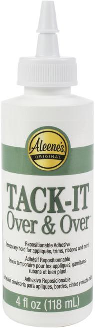 Aleene's Tack-It Over & Over Liquid Glue-4oz -29-2 - 017754156358