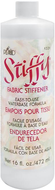 Plaid Stiffy Fabric Stiffener-16oz -1551 - 028995015519