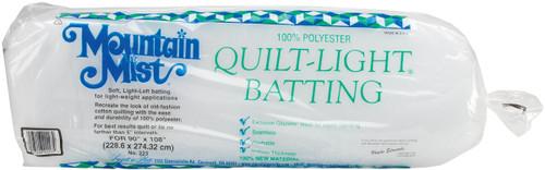 "Mountain Mist Quilt-Light Polyester Batting-Queen Size 90""X108"" -223MM - 027206222234"