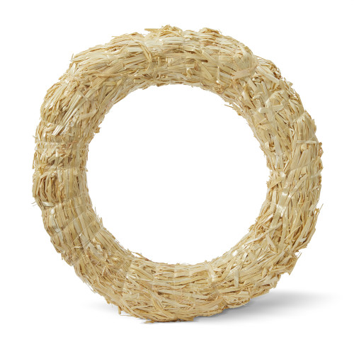 "Floracraft Straw Wreath-24"" -SW24C - 737017551385"