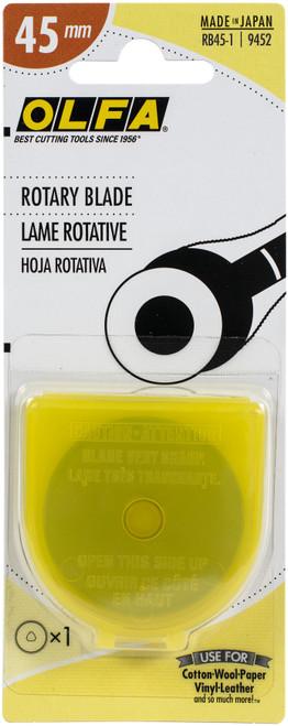 OLFA Rotary Blade 45mm-RB45-1 - 091511500424
