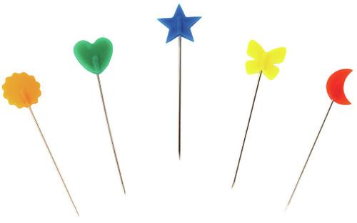 Singer Decorative Straight Pins-Size 24 100/Pkg -00359