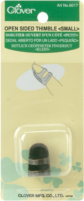 Clover Metal Open-Sided Thimble-Small -6017 - 051221508806