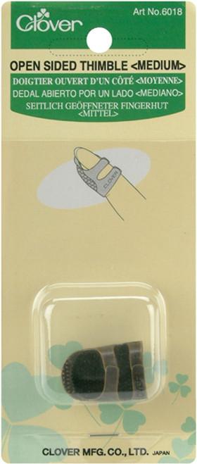 Clover Metal Open-Sided Thimble-Medium -6018 - 051221508813