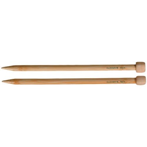 "Takumi Bamboo Single Point Knitting Needles 9""-Size 8/5mm -3011-8"