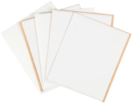 "Aleene's Fabric Fusion Sheets-4.25""X5"" 5/Pkg -29135"