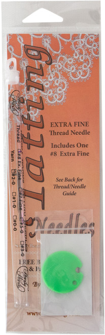 Handy Hands Tatting Needle For Thread-#8 Extra Fine -N11 - 769826832881